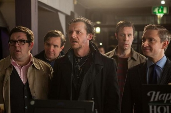 Nick Frost, Martin Freeman, Simon Pegg, Eddie Marsan and Paddy Considine