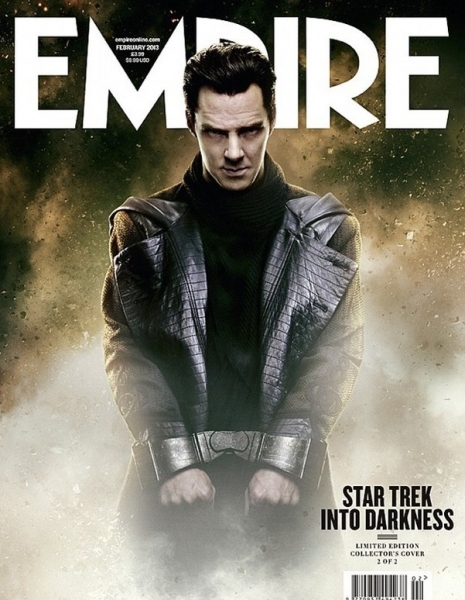 Photo Flash: First Look - Benedict Cumberbatch in STAR TREK: INTO DARKNESS