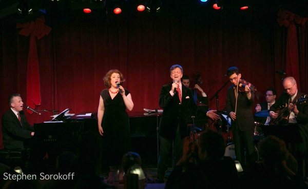 Photo Flash: Klea Blackhurst, Jim Caruso and Billy Stritch in A SWINGING BIRDLAND CHRISTMAS