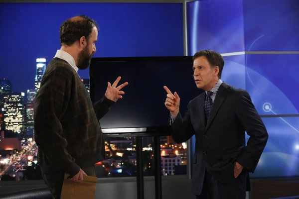 Brett Gelman, Bob Costas Photo