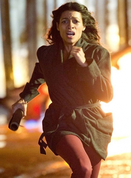 Rosario Dawson at First Look - Danny Boyle's Upcoming Thriller TRANCE