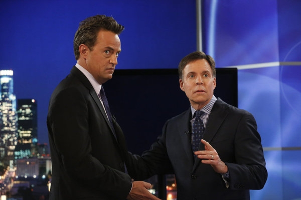 Photo Flash: First Look - Bob Costas Guest Stars on NBC's GO ON