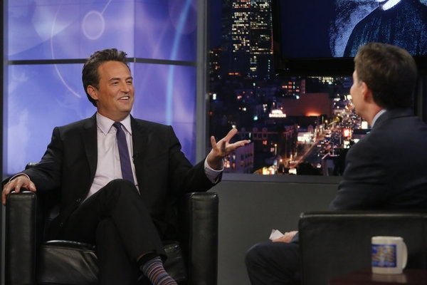 Matthew Perry, Bob Costas