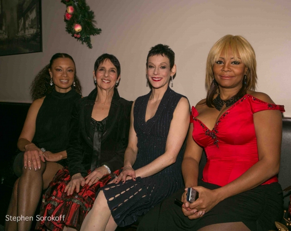 Valarie Pettiford, Loni Ackerman, Giselle Wolf, Tonya Pinkins at Jamie deRoy & Friends at the Metropolitan Room