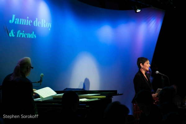 Photo Coverage: Jamie deRoy & Friends at the Metropolitan Room
