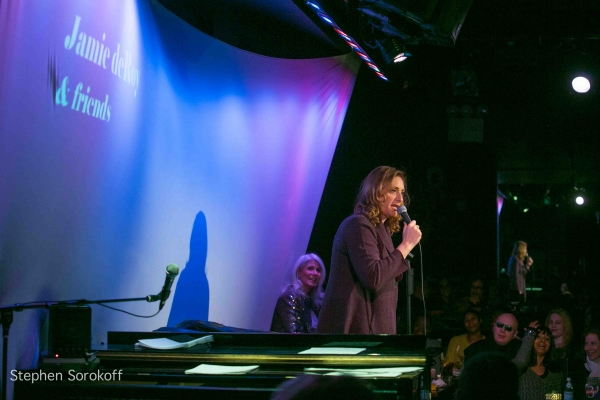 Judy Gold at Jamie deRoy & Friends at the Metropolitan Room