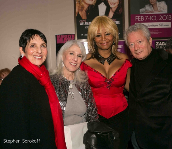 Loni Ackerman, Jamie deRoy, Tonya Pinkins at Jamie deRoy & Friends at the Metropolitan Room