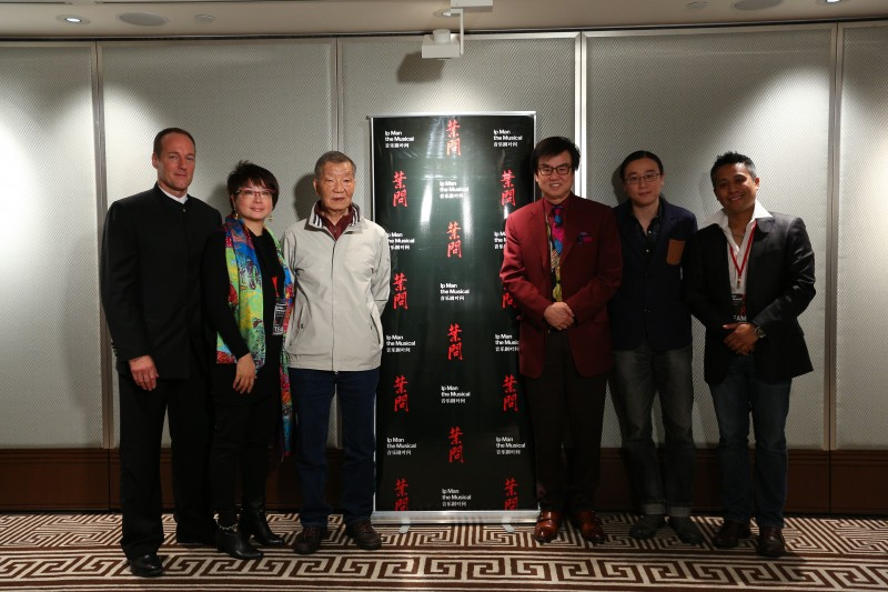 Grandmaster Ip Ching Joins IP MAN THE MUSICAL Creative Team; Musical in Development in Singapore