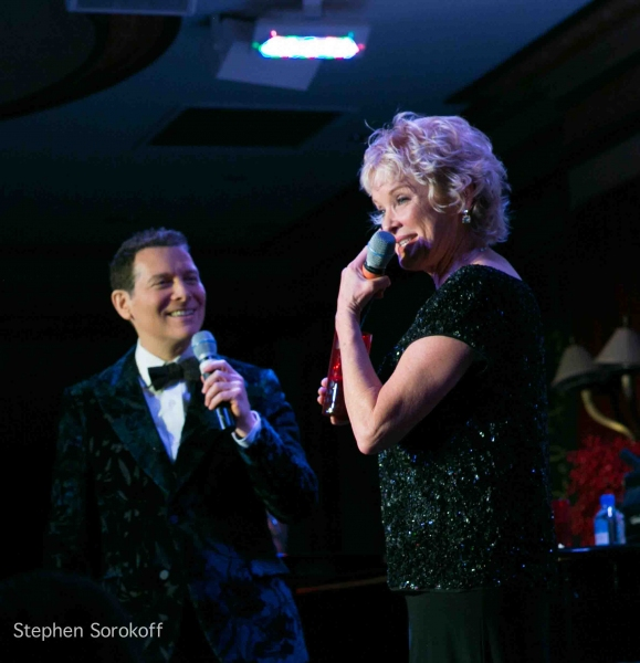 Michael Feinstein & Christine Ebersole at Sally Field and More Attend Christine Ebersole and Michael Feinstein's Show at Loews Regency