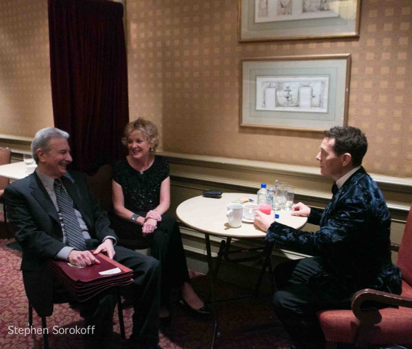 John Oddo, Christine Ebersole, Michael Feinstein at Sally Field and More Attend Christine Ebersole and Michael Feinstein's Show at Loews Regency
