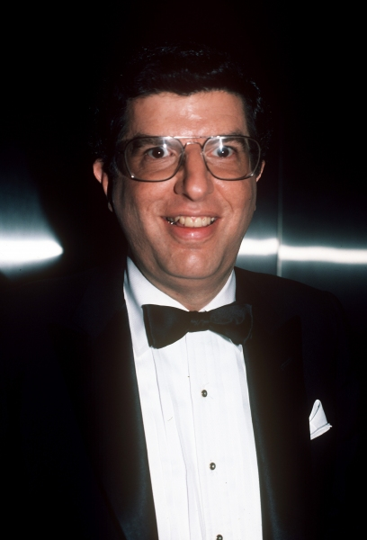 Marvin Hamlisch in New York City. 1989