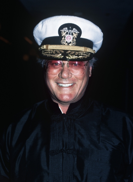 Larry Hagman in Los Angeles, California in 1988.