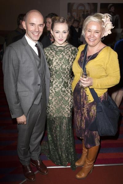 Daniel Evans (Director), Carly Bawden (Eliza Doolittle) and Emma Rice Photo
