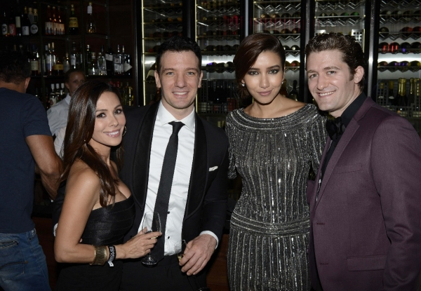 Kathryn Smith, JC Chasez, Renee Puente and Matthew Morrison