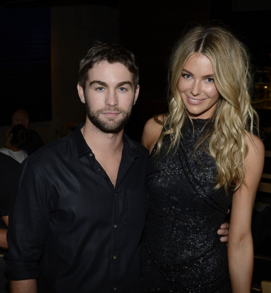 Chace Crawford and former Miss Universe Jennifer Hawkins