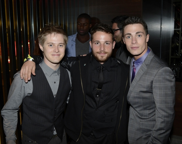 Lucas Grabeel, Shawn Pyfrom and Colton Haynes