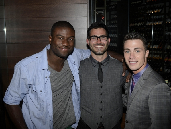 Sinqua Walls, Tyler Hecklin and Colton Haynes