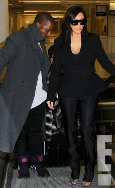 Kanye West,Kim Kardashian