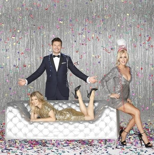 Ryan Seacrest, Fergie,Jenny McCarthy at Ryan Seacrest, Jenny McCarthy Host ABC's NEW YEAR'S ROCKIN EVE
