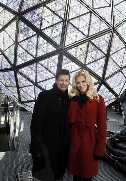 Ryan Seacrest, Jenny McCarthy at Ryan Seacrest, Jenny McCarthy Host ABC's NEW YEAR'S ROCKIN EVE