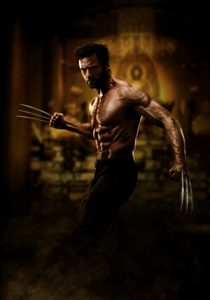 Hugh Jackman at Hugh Jackman Asserts WOLVERINE Poster is Not a Fake