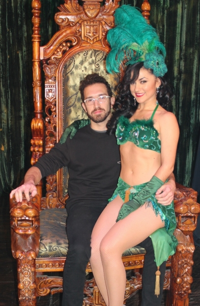 Photo Flash: FUN. Drummer Will Noon Visits ABSINTHE