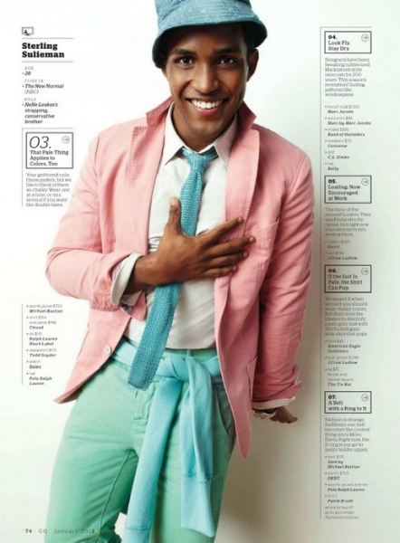 SMASH's Leslie Odom Jr. and MAD MEN's Ben Feldman Make GQ's Jan 2013 Breakout TV Stars List