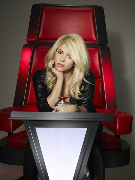 Photo Flash: First Look - New THE VOICE  Judge's Shakira & Usher