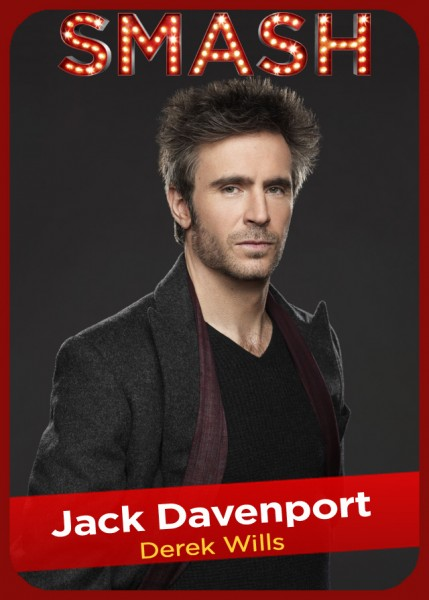 SMASH Character Card - Jack Davenport as DEREK WILLS