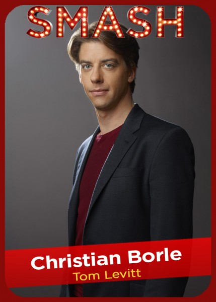 SMASH Character Card - Christian Borle as TOM LEVITT