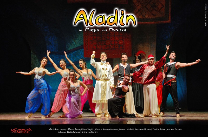 ALADIN - La Magia del Musical arriva in Italia... a bordo di un tappeto volante!