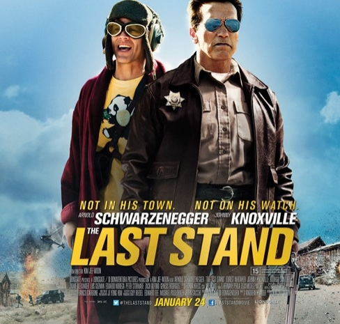 Photo Flash: First Look - Poster Art for Schwarzenegger's THE LAST STAND