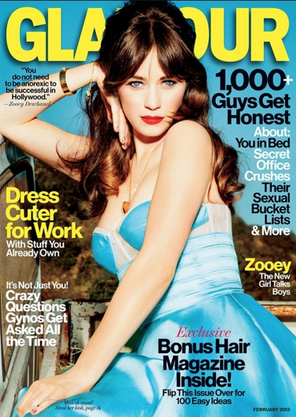 Photo Coverage: Zooey Deschanel's Glamour Shot