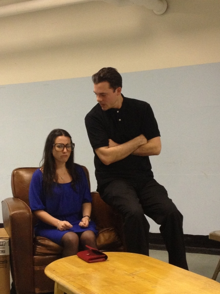 Photo Flash: In Rehearsal with the Cast of MOOSE MURDERS!