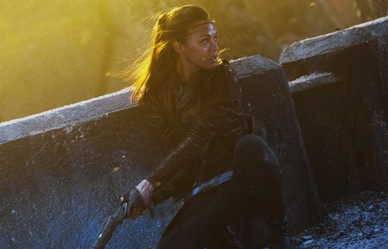 Zoe Saldana at New HD Images of STAR TREK INTO DARKNESS Released