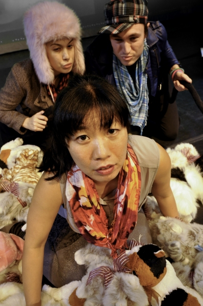 Photo Flash: First Look at Kristina Wong in CAT LADY at Mad Cat Theatre