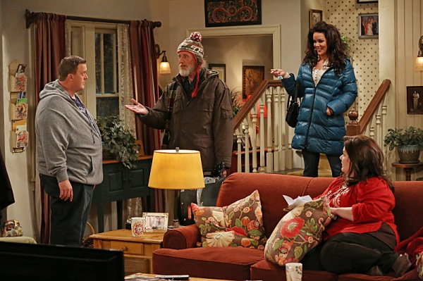 Billy Gardell, David Allen, Katy Mixon at First Look at 'Molly's Birthday' on MIKE & MOLLY