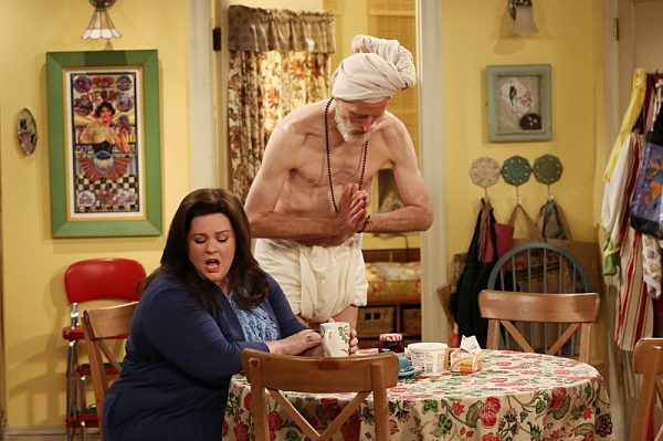 Melissa McCarthy, David Allen at First Look at 'Molly's Birthday' on MIKE & MOLLY