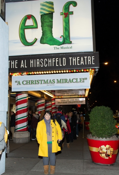 Photo Coverage: ELF Contest Winner Melissa Marengo Preps for Broadway Debut!
