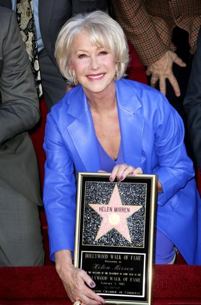Helen Mirren at Helen Mirren Receives Star on Hollywood Walk of Fame
