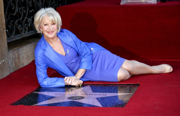 Photo Flash: Helen Mirren Receives Star on Hollywood Walk of Fame