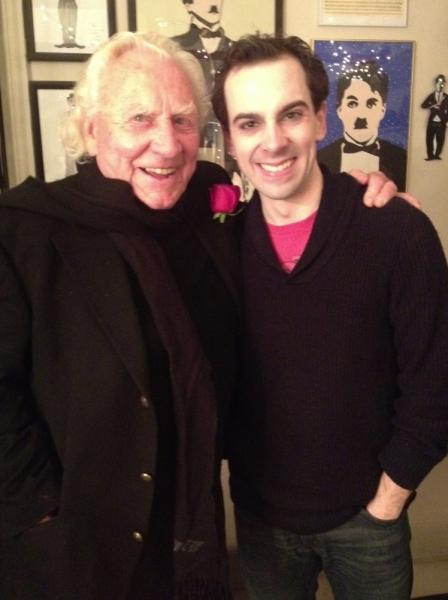 Photo Flash: Ricky Lyon & Joseph Sirola Visit CHAPLIN!