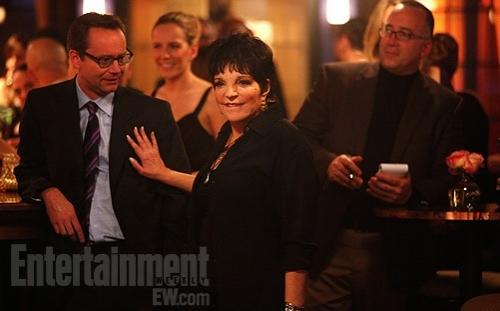 Liza Minnelli at First Look - Liza Minnelli on SMASH Season 2
