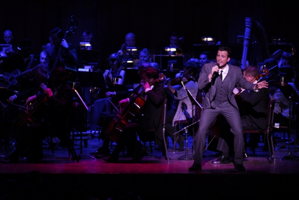 Photo Flash: Cheyenne Jackson Performs MUSIC OF THE MAD MEN ERA With Nina Arianda!