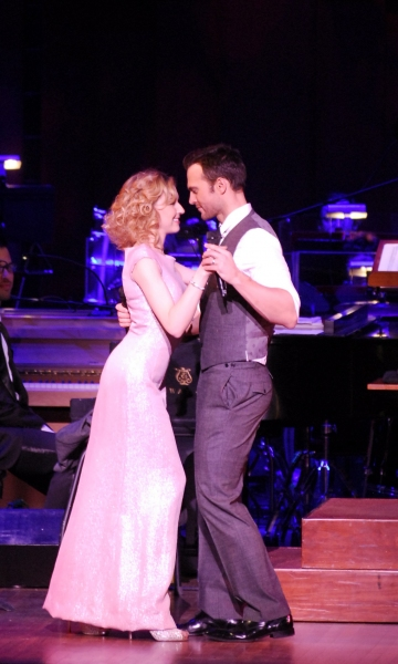 Nina Arianda, Cheyenne Jackson at Cheyenne Jackson Performs MUSIC OF THE MAD MEN ERA With Nina Arianda!