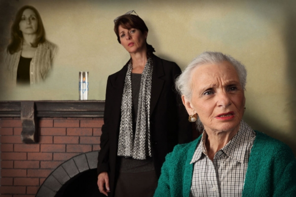 Photo Flash: First Look at Harriet Oser, Irene Adjan and More in THE INTERVIEW