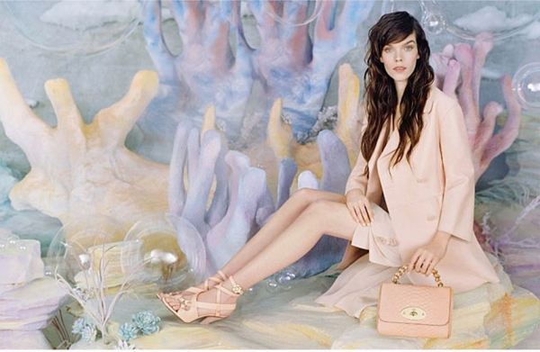 Photo Coverage: Meghan Collison Stars in the Spring 2013 Campaign for Mulberry