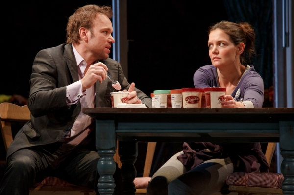BWW Flashback: DEAD ACCOUNTS, Feat. Katie Holmes & Norbert Leo Butz, Concludes Broadway Run Today