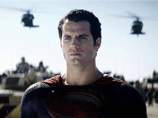 Photo Flash: Henry Cavill as 'Superman' in MAN OF STEEL