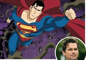Photo Flash: First Look - Matt Bomer in Animated SUPERMAN:UNBOUND